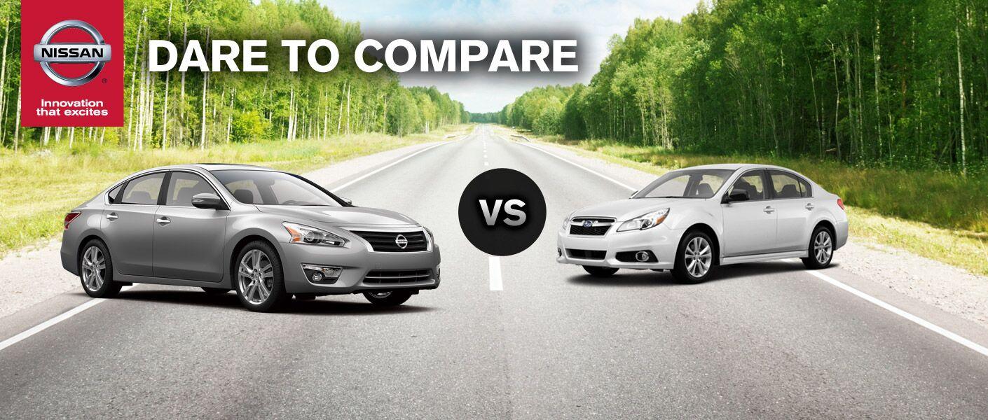 2014 Nissan Altima vs. 2014 Subaru Legacy