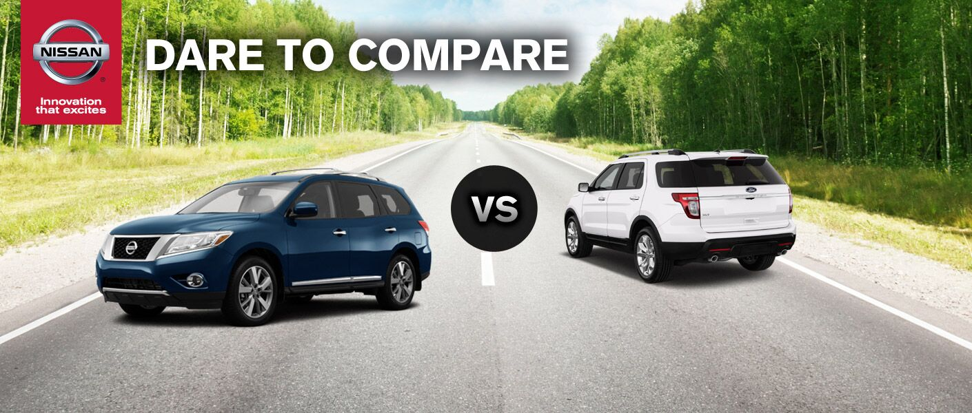 Nissan Pathfinder vs. Ford Explorer