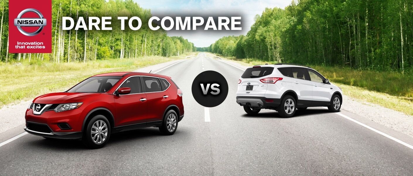 Nissan Rogue vs. 2014 Ford Escape