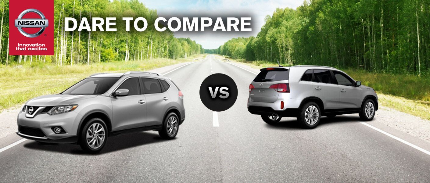 2014 Nissan Rogue vs 2014 Kia Sorento is a popular comparison among those looking for a crossover.