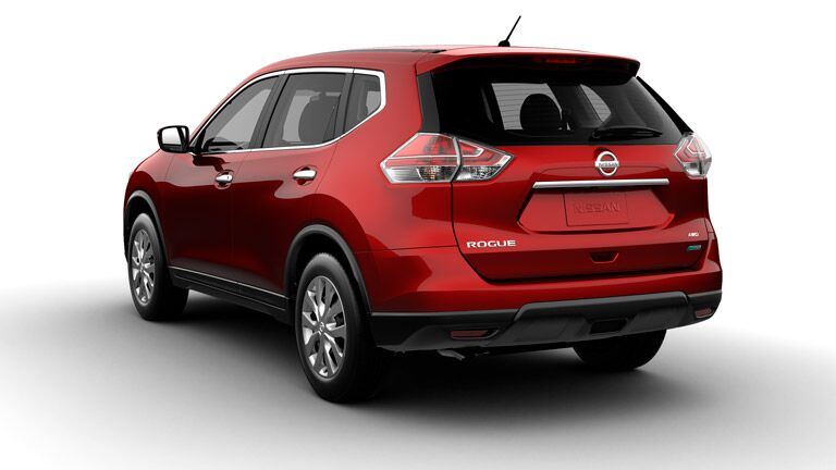 The interior of the 2014 Nissan Rogue vs 2014 Kia Sorento battle is clearly won by the 2014 Nissan Rogue.