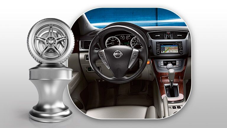 The interior of the Nissan Sentra is what puts it at the top of the 2014 Nissan Sentra vs 2014 Hyundai Elantra comparison.