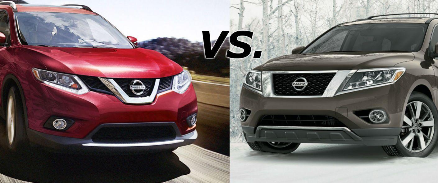 2015 Nissan Rogue vs 2015 Nissan Pathfinder