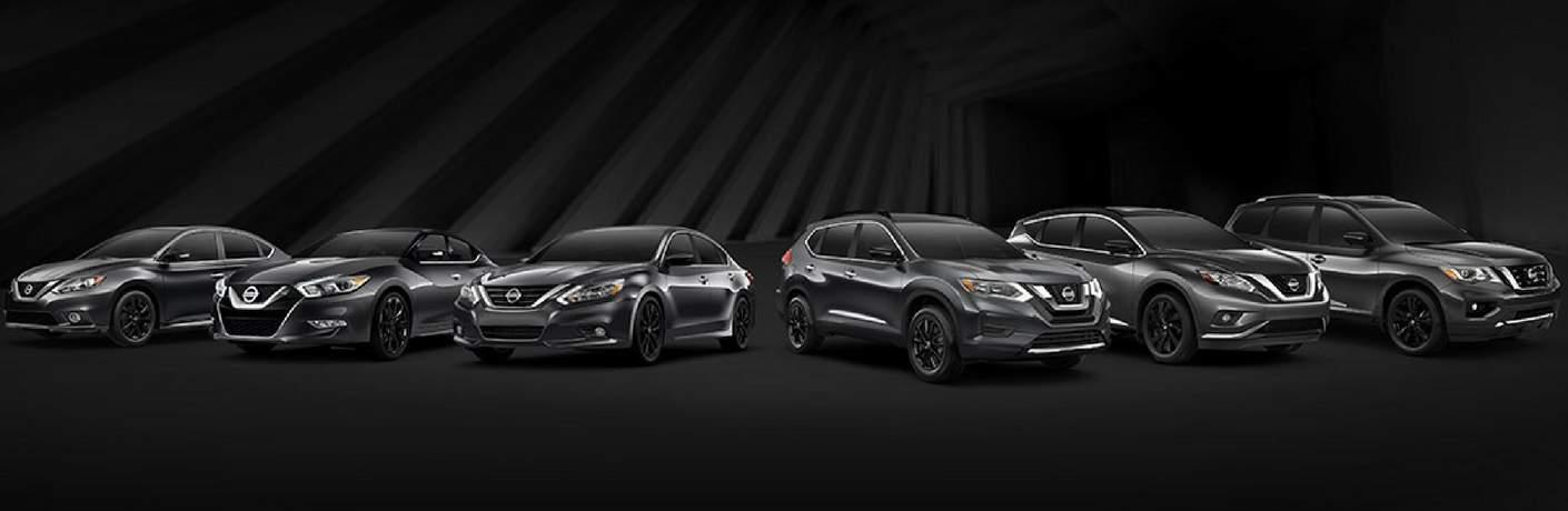 New 2017 Nissan Midnight Edition Models