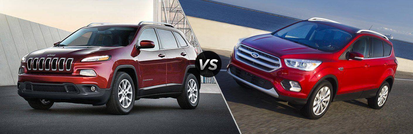 2017 Jeep Cherokee Vs 2017 Ford Escape