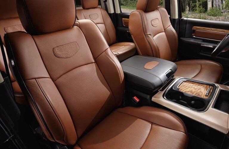 2017 Ram 1500 Brown leather Interior