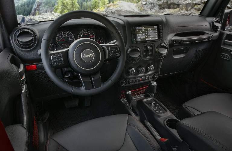 2018 Jeep Wrangler interior design