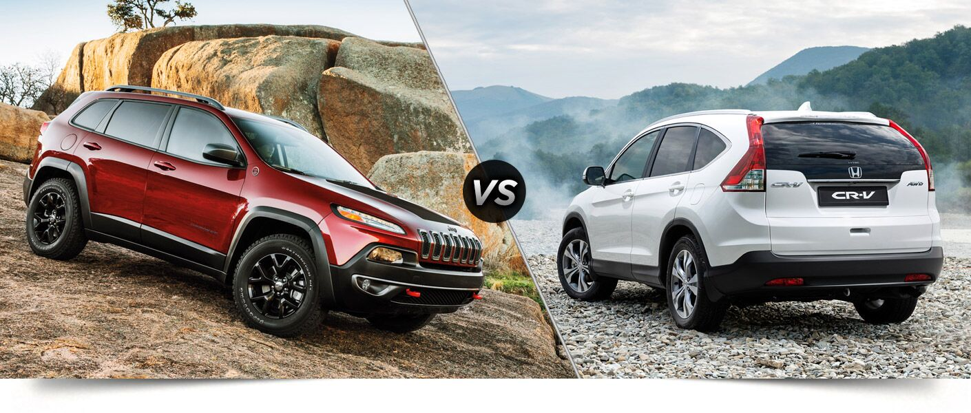 Towing capacity 2014 jeep cherokee vs honda cr v for Jeep compass vs honda crv