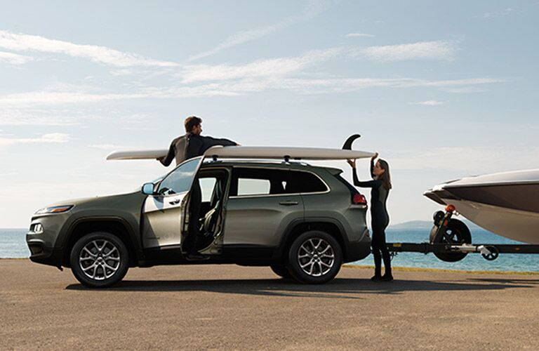 2013 jeep compass towing capacity