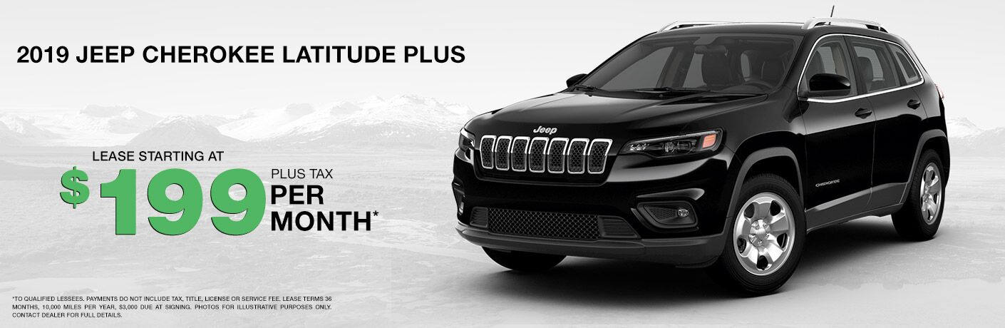 Lease a Jeep Cherokee in Racine WI