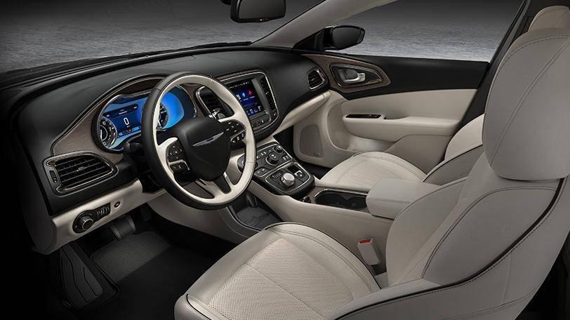 2015 Chrysler 200 S vs 2015 Chrysler 200 LX interior front seat