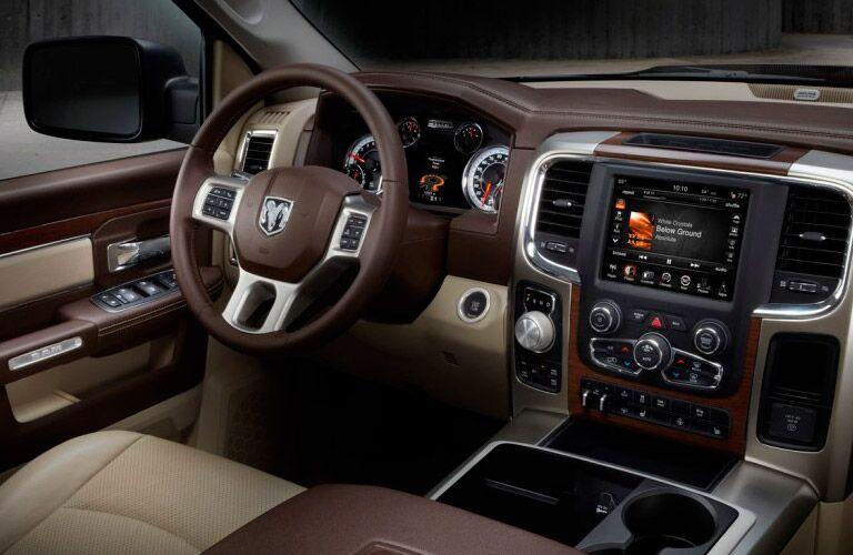 2014 Ram 1500 interior design