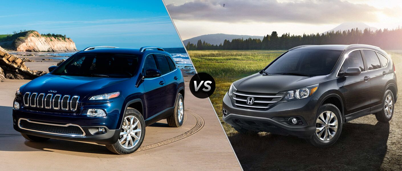 2014 jeep cherokee vs 2014 honda cr v for Jeep compass vs honda crv
