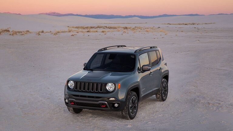 Used Jeep Renegade design