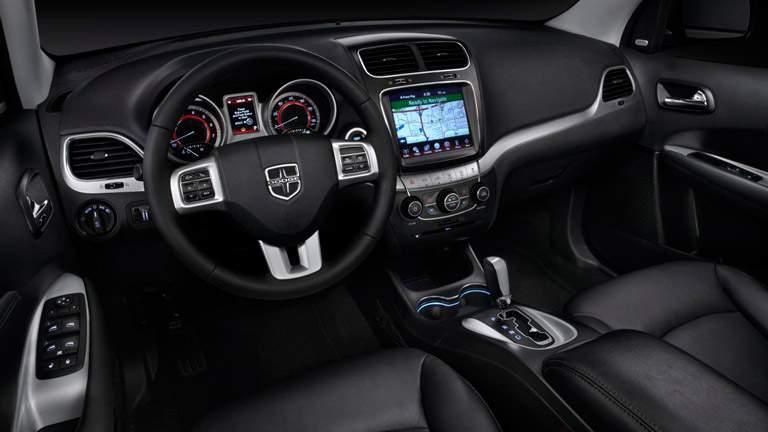 Used 2015 Dodge Journey interior dashboard design