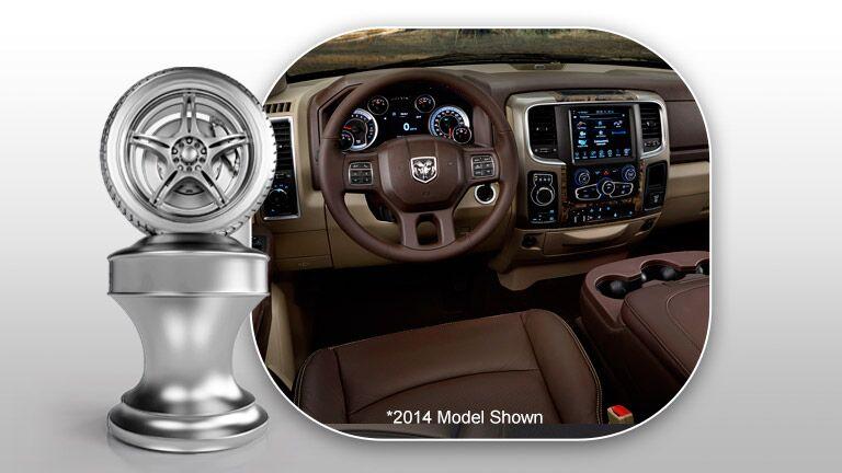 Interior 2015 RAM 1500 vs Toyota Tundra
