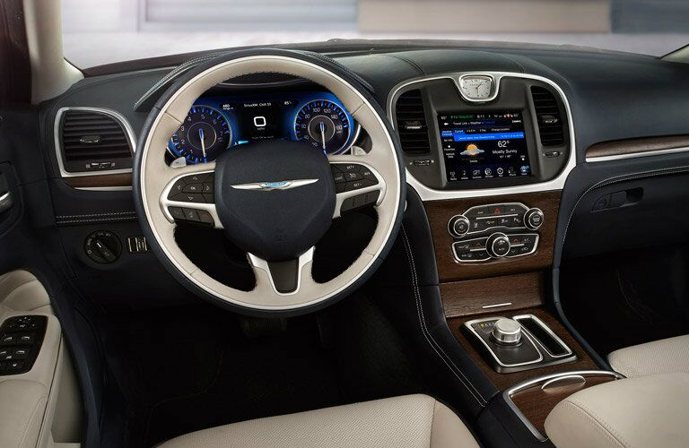2016 Chrysler 300 light leather interior