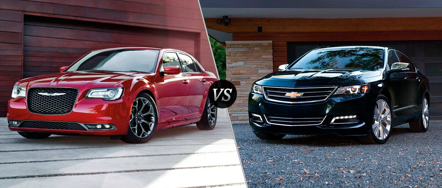 2016 Chrysler 300 vs 2016 Chevy Impala