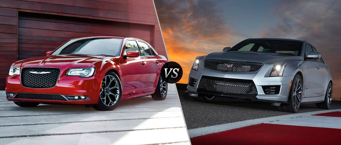 2016 Chrysler 300 vs 2016 Cadillac ATS
