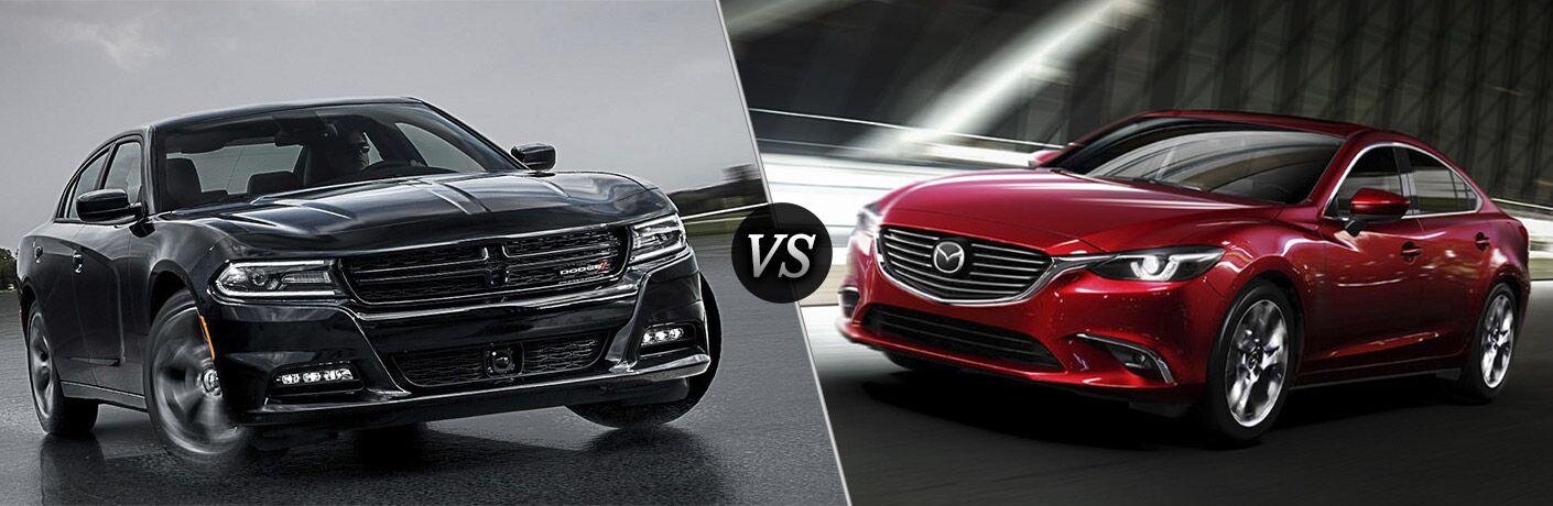 2016 Dodge Charger vs 2016 Mazda6