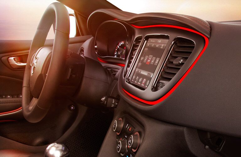 2016 Dodge Dart Center Console