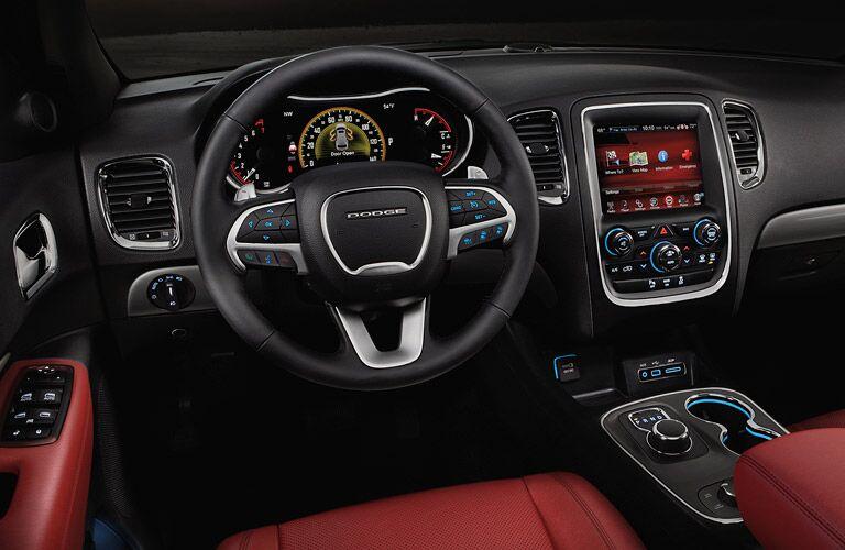 2016 Dodge Durango Steering Wheel and Dashboard