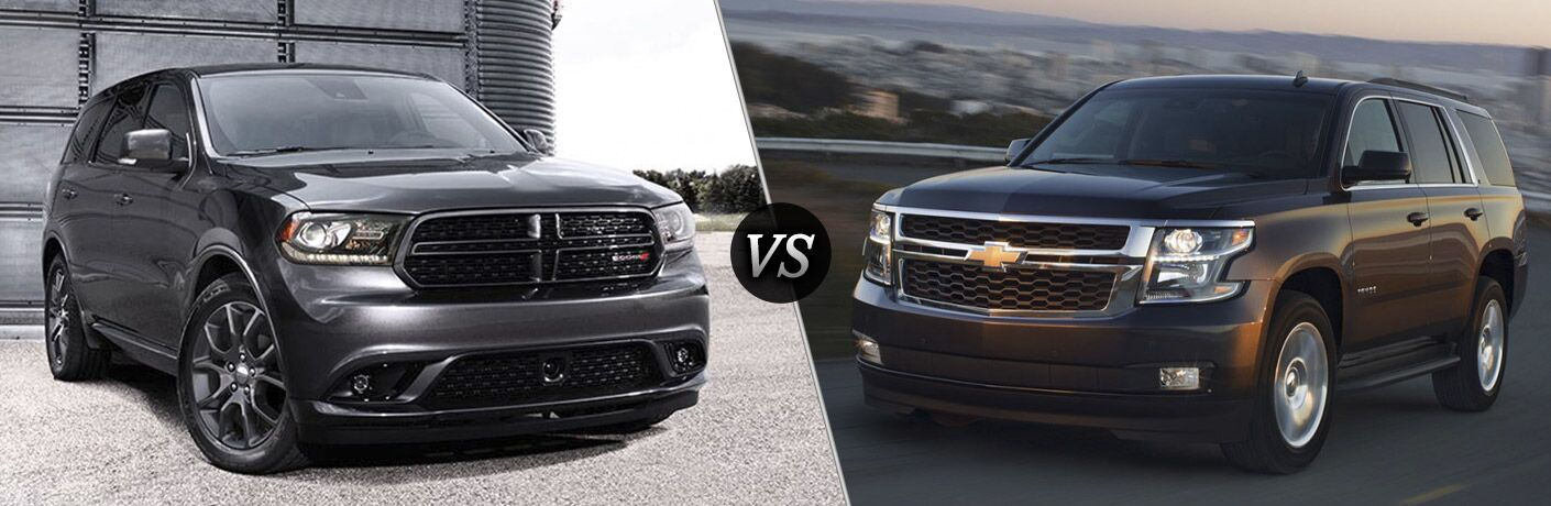 2016 Dodge Durango vs 2016 Chevy Tahoe