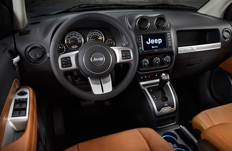 2016 Jeep Compass Dashboard Steering Wheel