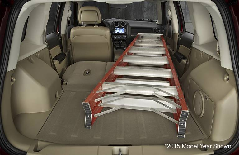Jeep Interior Cargo Space