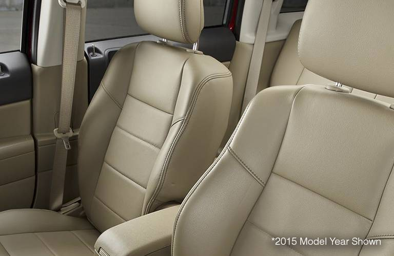 2016 Jeep Patriot Tan Leather Seating
