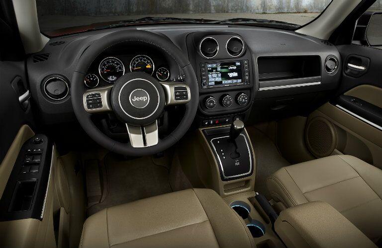 2016 Jeep Patriot Interior Dashboard