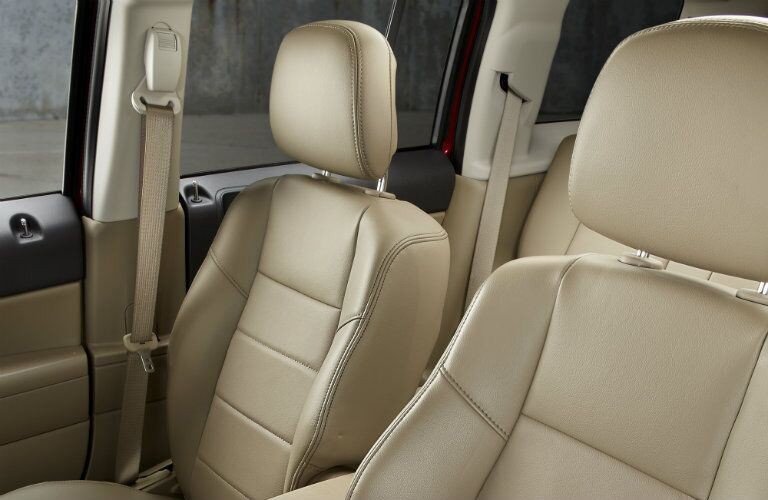2016 Jeep Patriot Front Seats Leather Tan