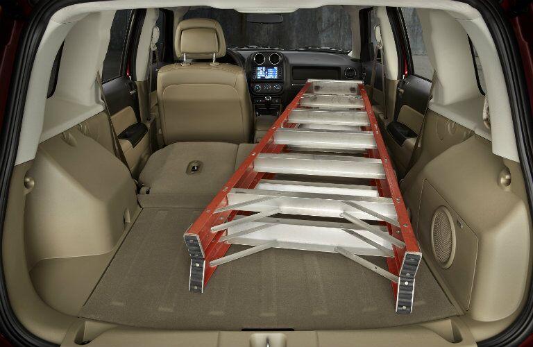 2016 Jeep Patriot Folded Rear Seats