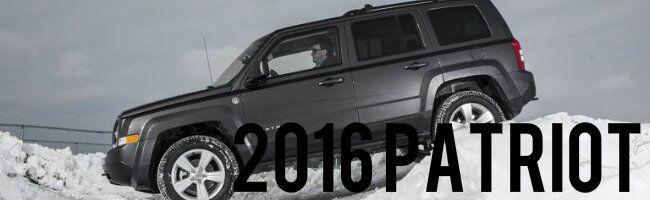 2016 Jeep Patriot Kenosha WI