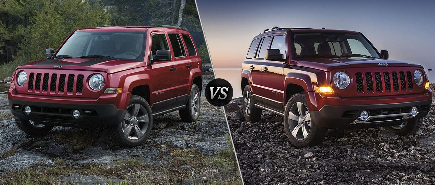 clp jeep edition patriot vs sport altitude a high