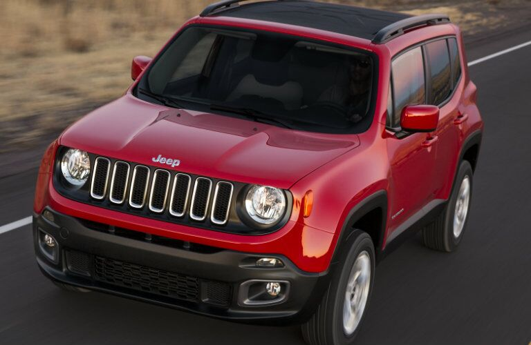 2016 Jeep Renegade Changes