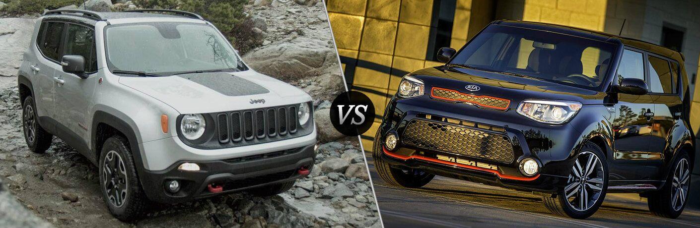 2016 Jeep Renegade vs 2016 Kia Soul