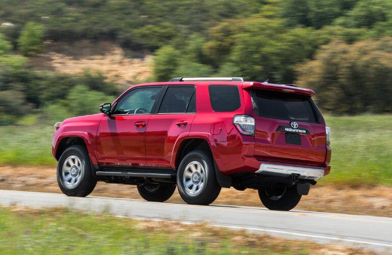 2016 Toyota 4Runner taillights