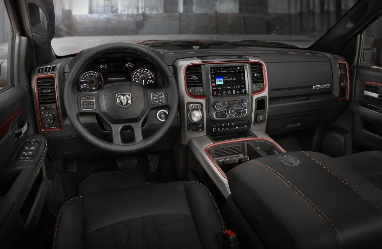 2016 RAM 1500 Front Seats
