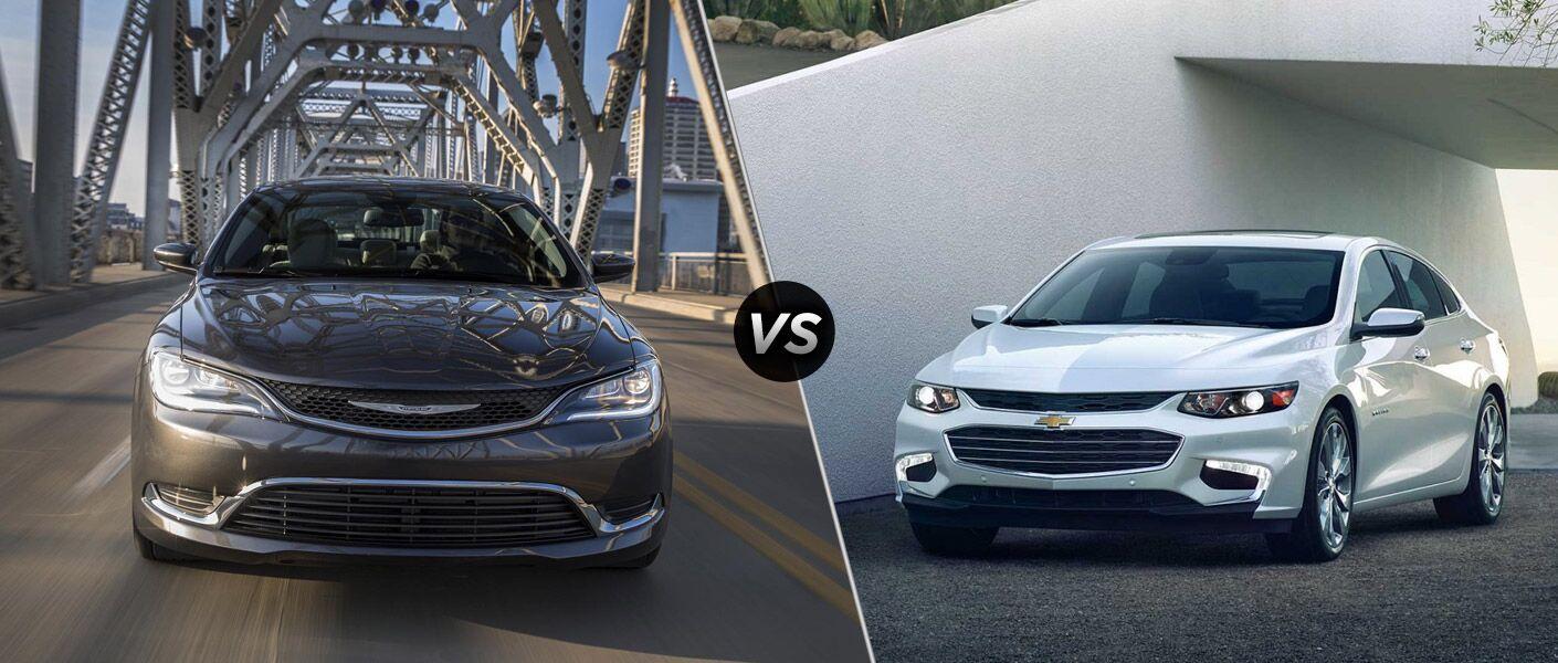 2016 Chrysler 200 vs 2016 Chevy Malibu