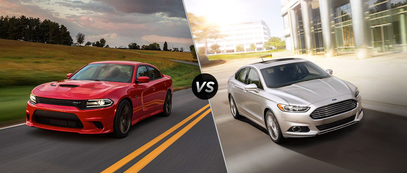 2016 dodge charger vs 2016 ford fusion
