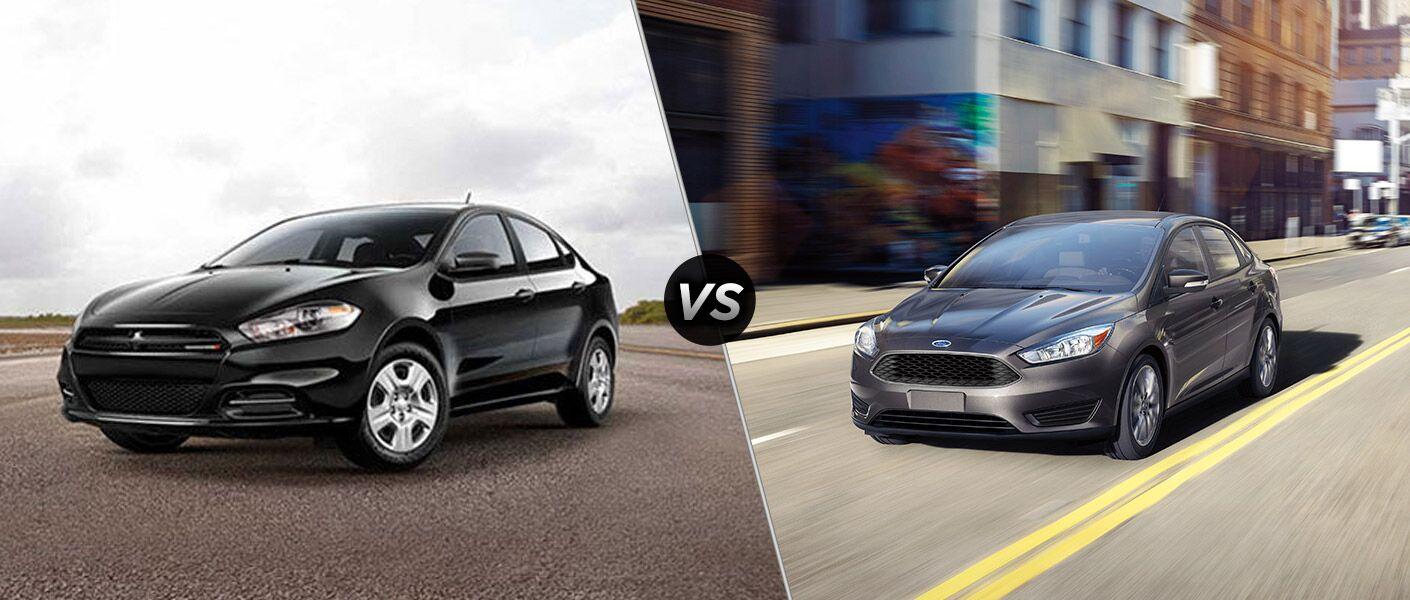 2016 Dodge Dart vs 2016 Ford Focus