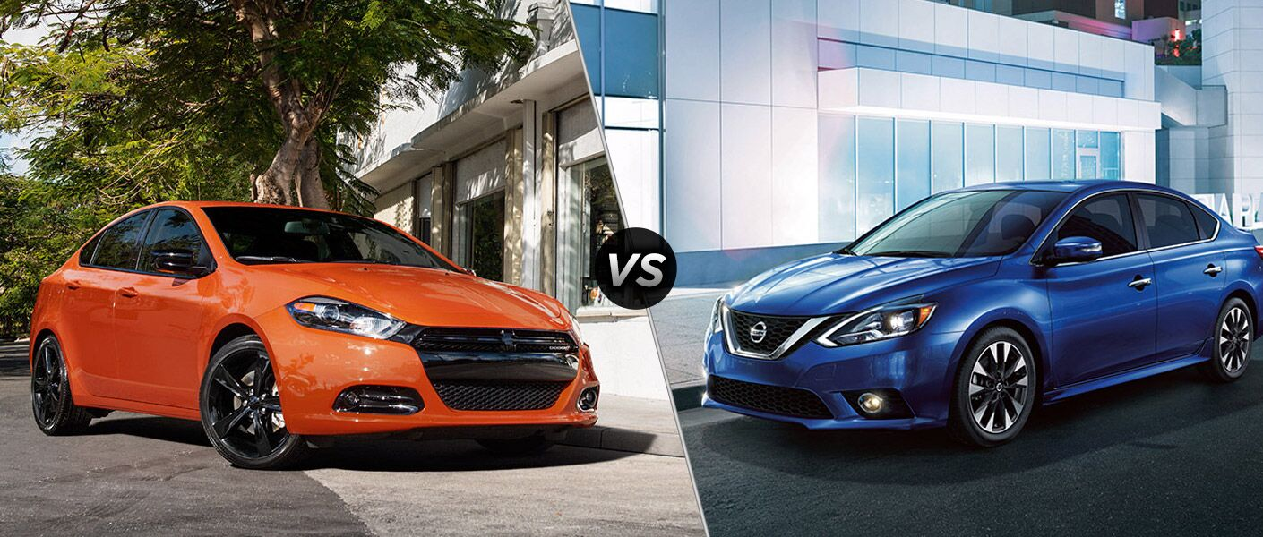 2016 Dodge Dart vs 2016 Nissan Sentra