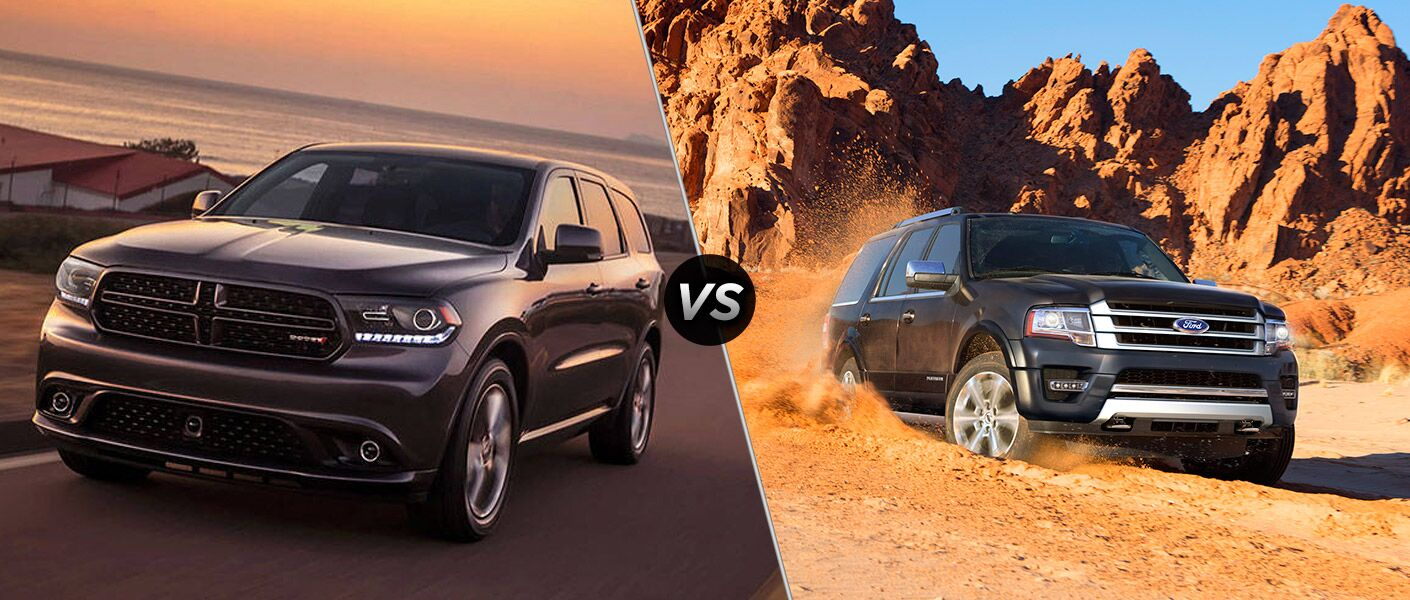 2016 Dodge Durango vs 2016 Ford Expedition