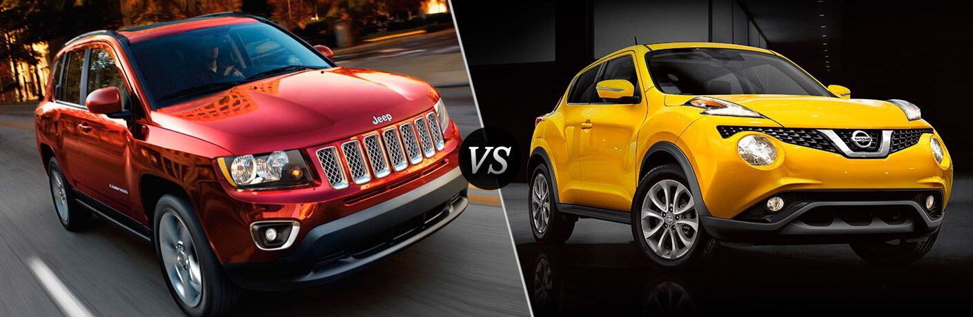 2016 Jeep Compass vs 2016 Nissan Juke