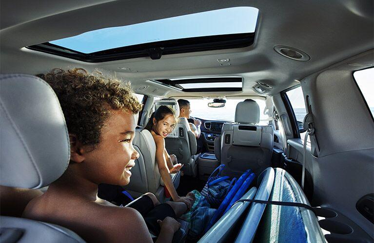 2017 Chrysler Pacifica Versatile Rear Seating