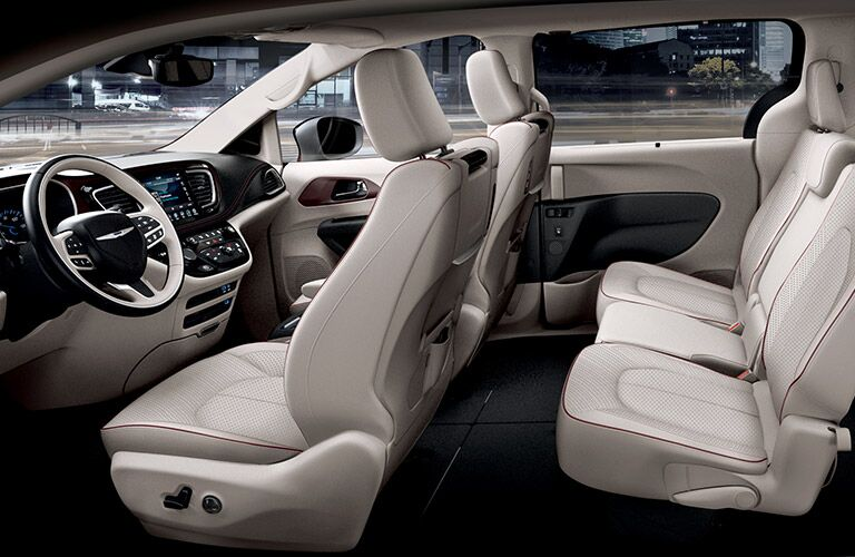 2017 Chrysler Pacifica Seating Space