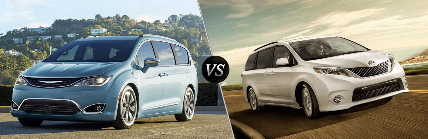 2017 Chrysler Pacifica vs 2016 Toyota Sienna