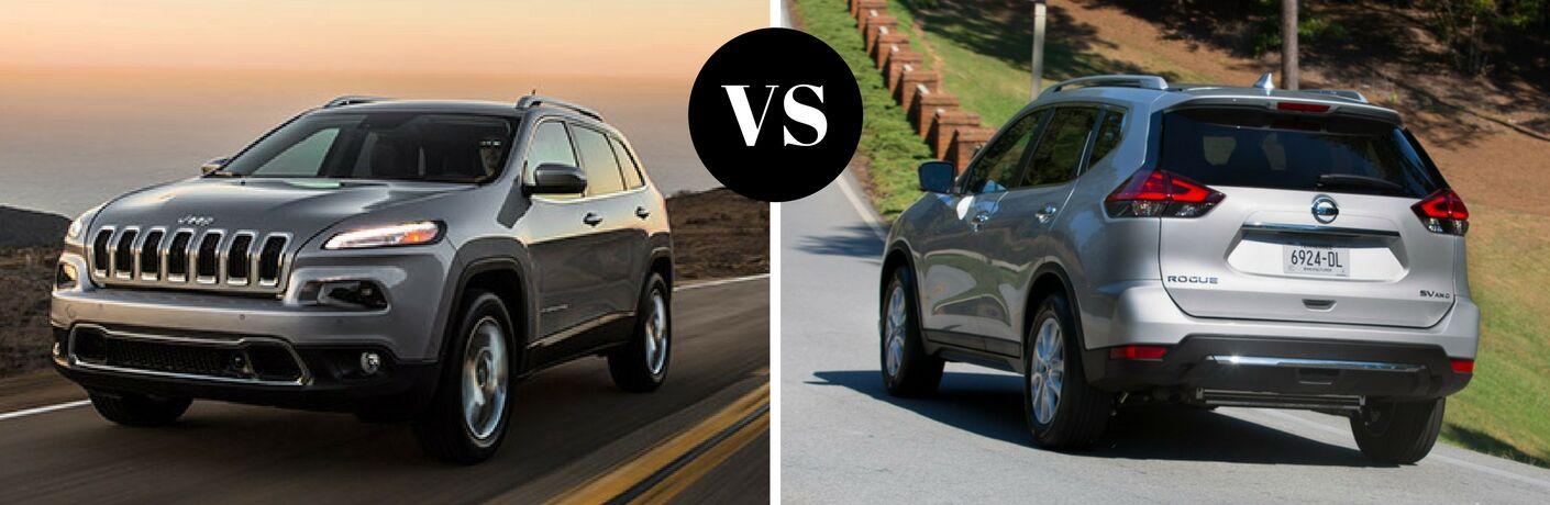 2017 Jeep Cherokee vs 2017 Nissan Rogue