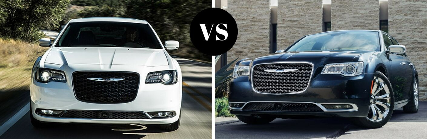 2017 Chrysler 300 vs 2016 Chrysler 300